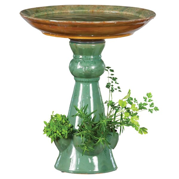 Ava Birdbath by Evergreen Flag & Garden