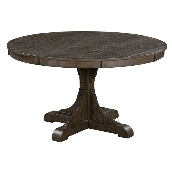 Poar Solid Wood Dining Table by Gracie Oaks