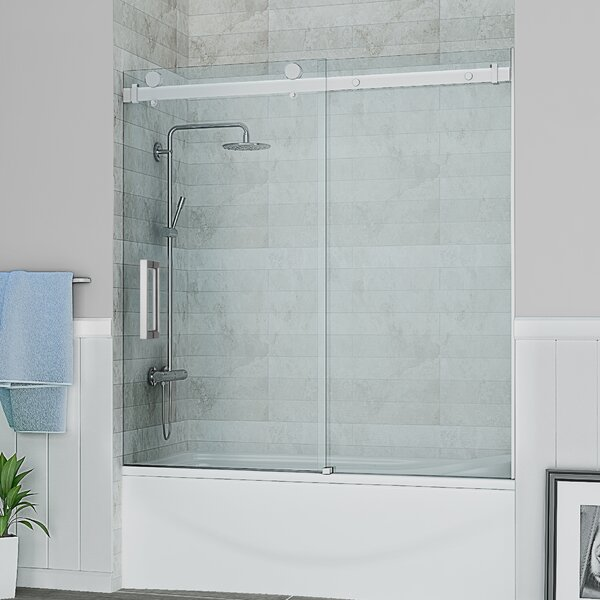 Sierra 59 x 59 Single Sliding Tub Door by Ove Decors