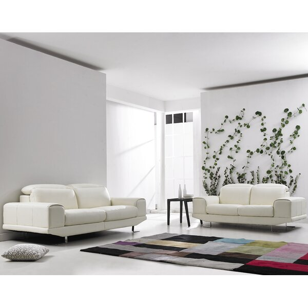 2 Piece Living Room Set by David Divani Designs