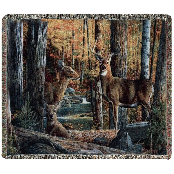 Broken Silence II Tapestry Cotton Throw by Manual Woodworkers & Weavers