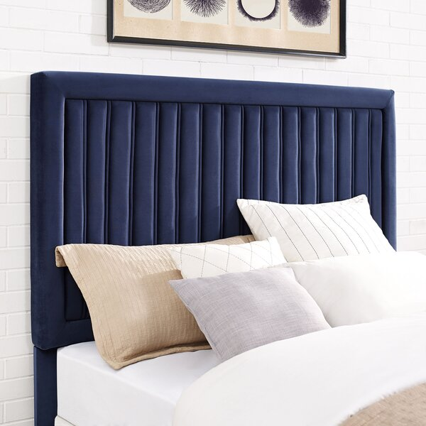 Gerke Upholstered Panel Headboard By Mercer41 Discount