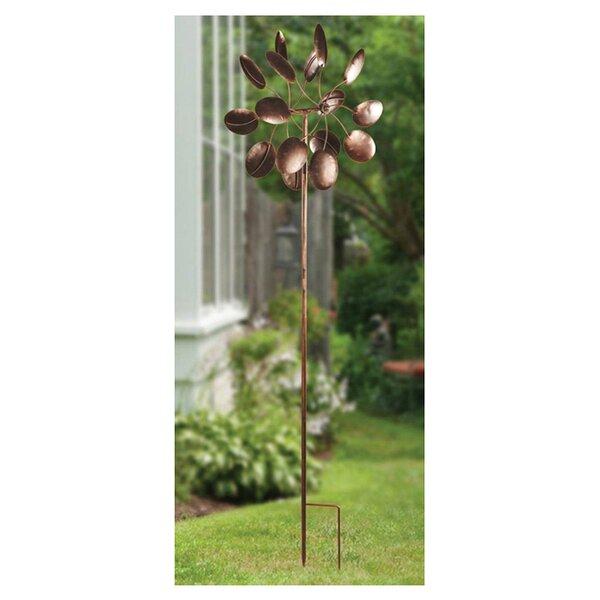 Flower Petal Windmill Garden Stake by Zingz & Thingz