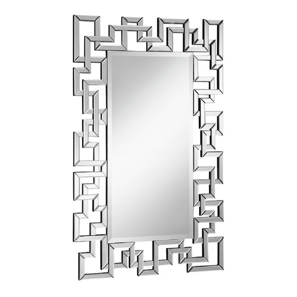 Rectangle Beveled Wall Mirror by Latitude Run