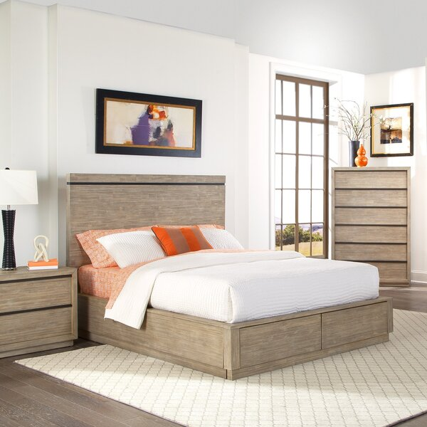 Crannell Storage Platform Bed by Loon Peak