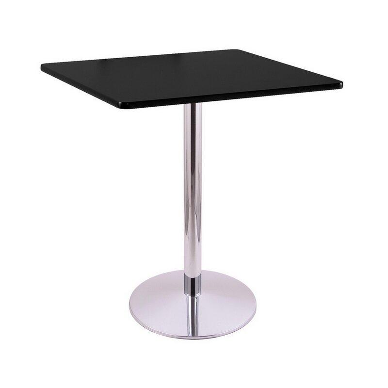 Bar Height Pedestal Dining Table