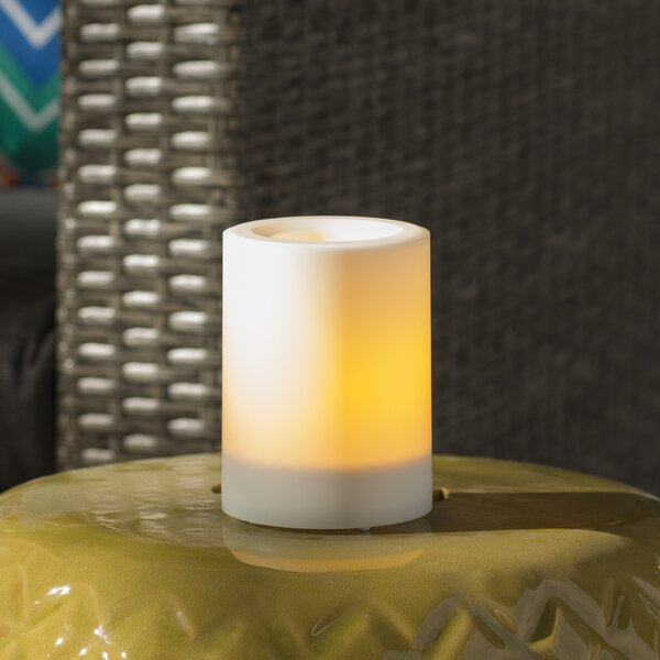 Flameless Unscented Pillar Candle by Andover Mills