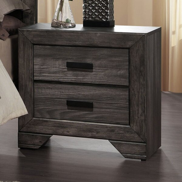 Willer 2 Drawer Nightstand by Union Rustic