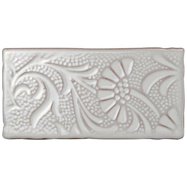 Antiqua 3 x 6 Ceramic Subway Tile in Feelings Milk by EliteTile