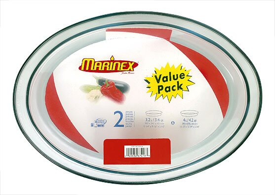 15.75 Oval Roaster (Set of 2) by Marinex