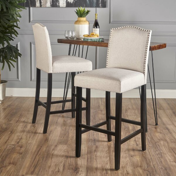 Alessandro 30 Bar Stool (Set of 2) by Darby Home Co