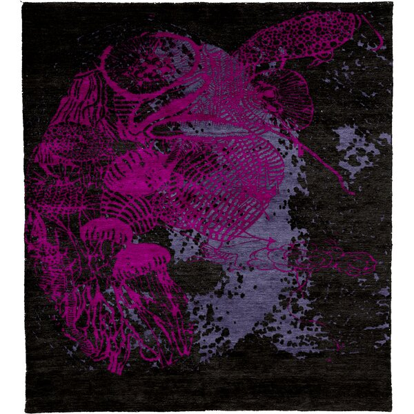 One-of-a-Kind West Newbury Hand-Knotted Traditional Style Pink 12' x 15' Wool Area Rug