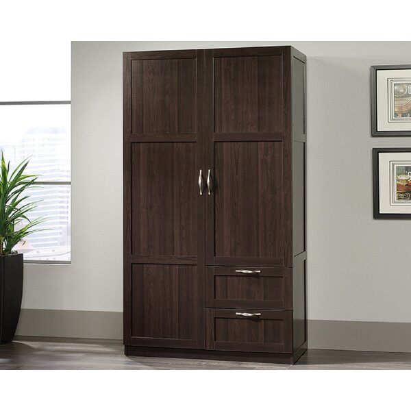 Hinckley Wardrobe Armoire By Canora Grey by Canora Grey Today Sale Only
