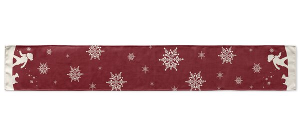 Let It Snow Table Runner by KAVKA DESIGNS