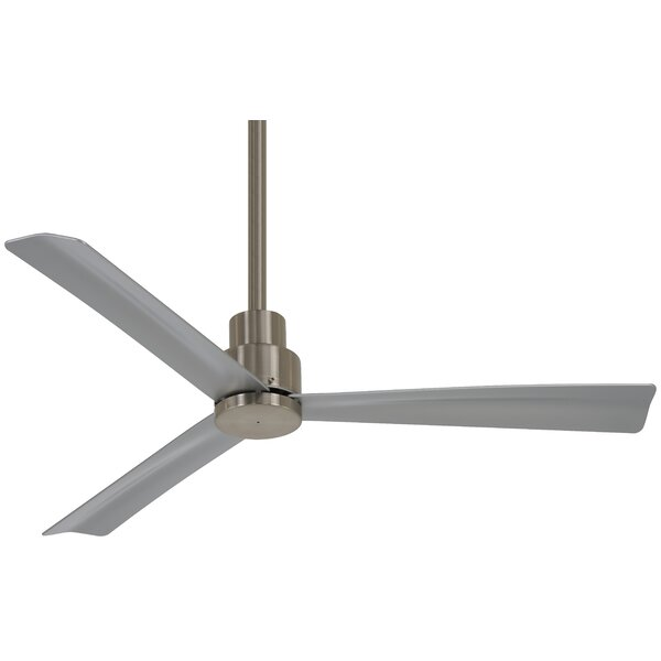 44 Simple 3 Blade Ceiling Fan with Remote by Minka Aire