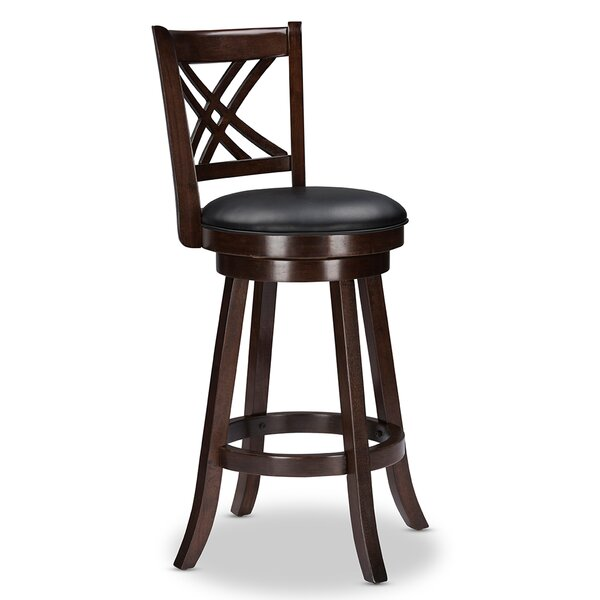 Baxton Studio 29 Swivel Bar Stool (Set of 2) by Wholesale Interiors