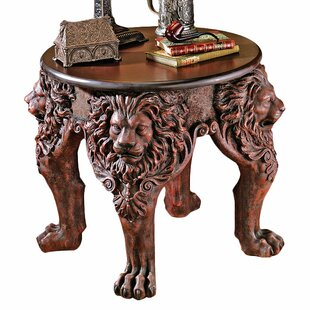 Inexpensive Lord Raffles Lion Leg End Table ByDesign Toscano