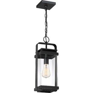 Top Reviews Narragansett 1-Light Outdoor Hanging Lantern By Breakwater Bay