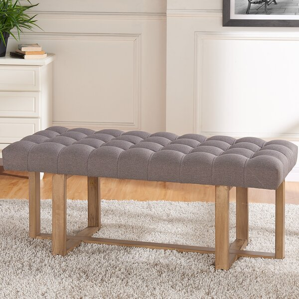 Ophion Upholstered Bench by One Allium Way