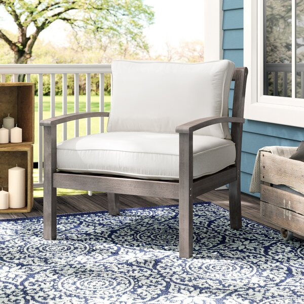 Patio Chair with Cushions by Birch Lane™