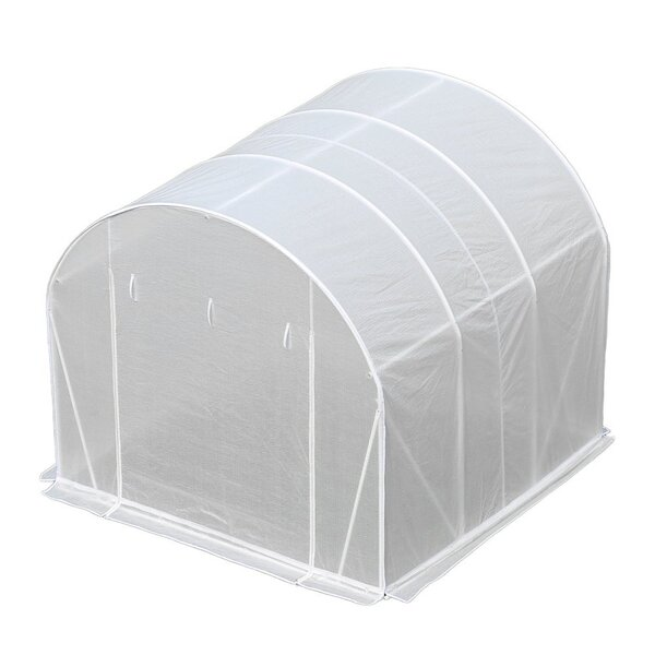 10 Ft. W x 10 Ft. D Greenhouse by Abba Patio