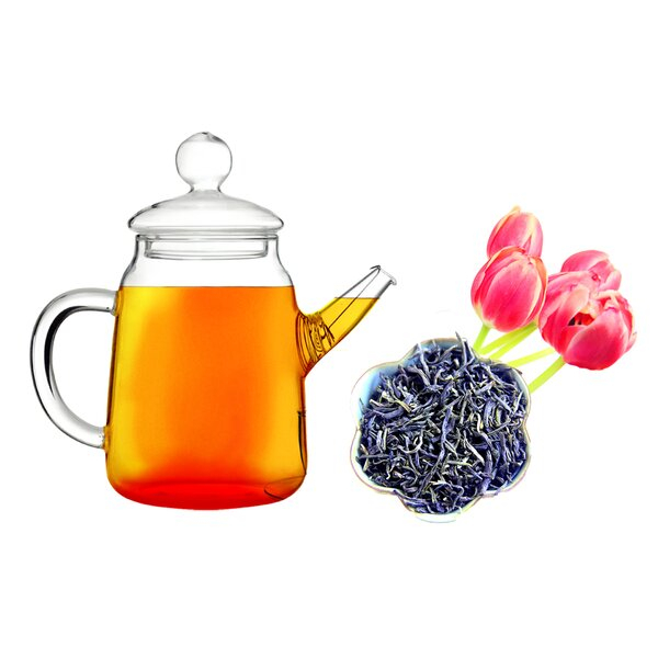 Duo 0.5-qt. Jasmine Whole Leaf Green Teapot by Tea Beyond