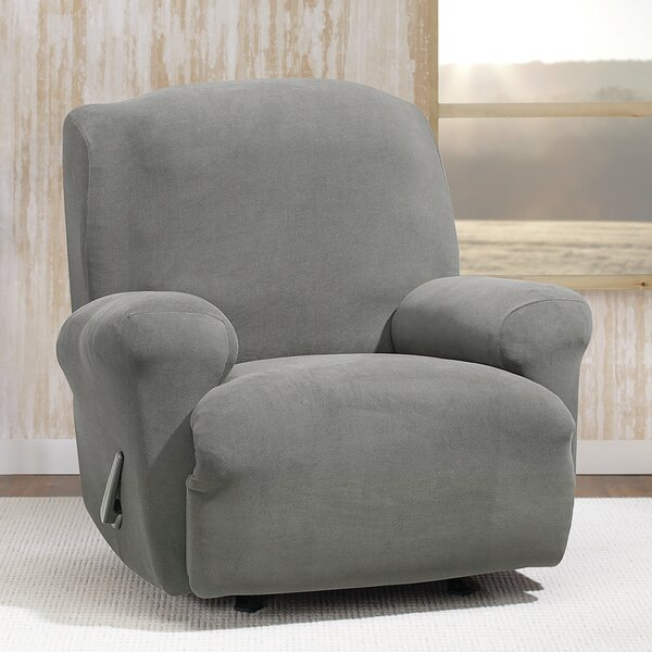 Stretch Morgan T-Cushion Recliner Slipcover by Sure Fit