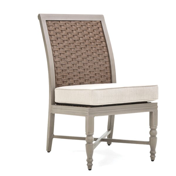 Grayson Patio Dining Chair with Cushion (Set of 2) by Winston