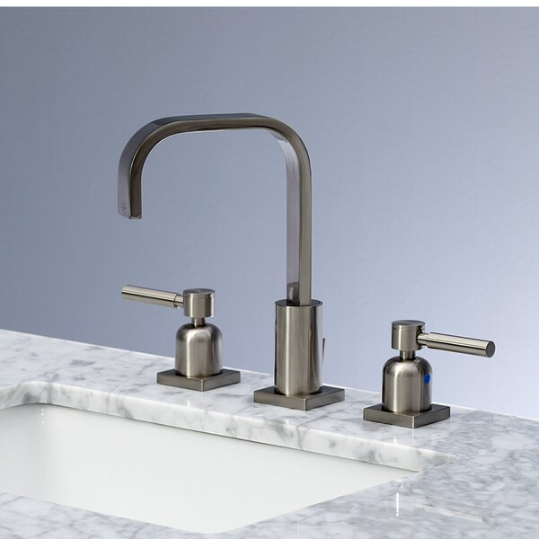 Concord Widespread Bathroom Faucet With Drain Assembly By Kingston Brass