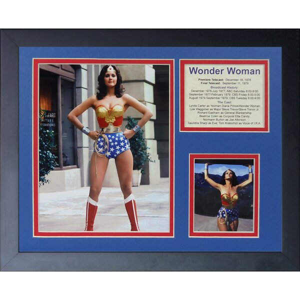 Wonder Woman Framed Photographic Print by Legends Never Die