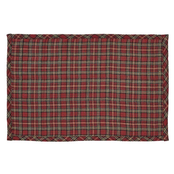 Tartan Holiday Placemat (Set of 6) by The Holiday Aisle