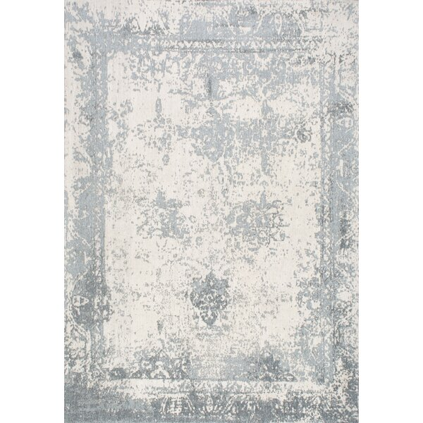 Chartres Hand-Woven Blue Area Rug by Lark Manor