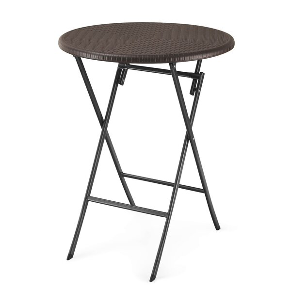 Darmstadt Folding Bistro Table by Winston Porter