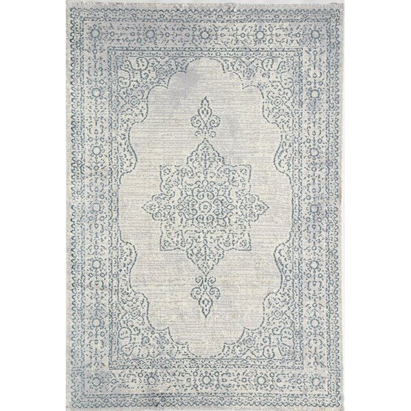 Lovina Blue Area Rug by Bungalow Rose