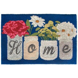 Calderon Home Hand-Tufted Blue Indoor/Outdoor Area Rug by August Grove