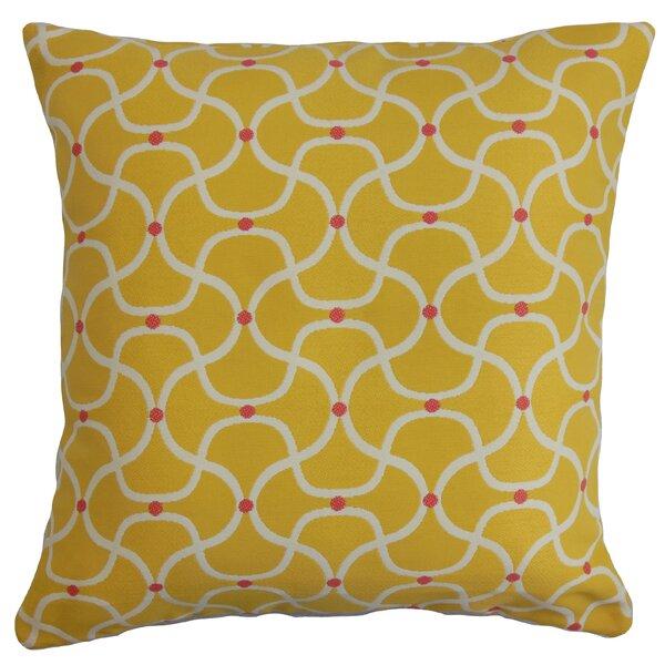 Castellanos Geometric Floor Pillow by Latitude Run