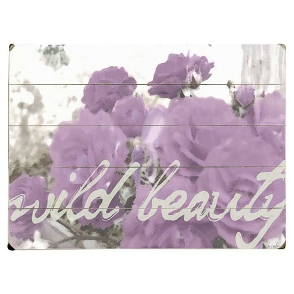 Wild Beauty Graphic Art Print Multi-Piece Image on Wood by Artehouse LLC