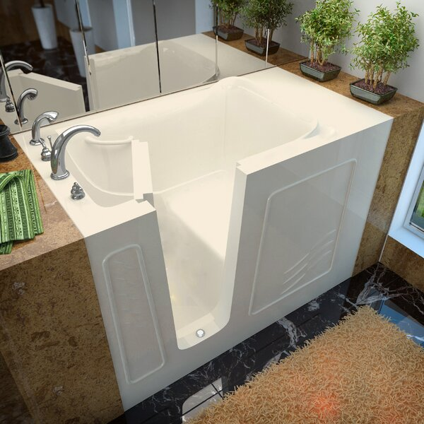 Ashton 53 x 30 Walk-In Bathtub by Therapeutic Tubs