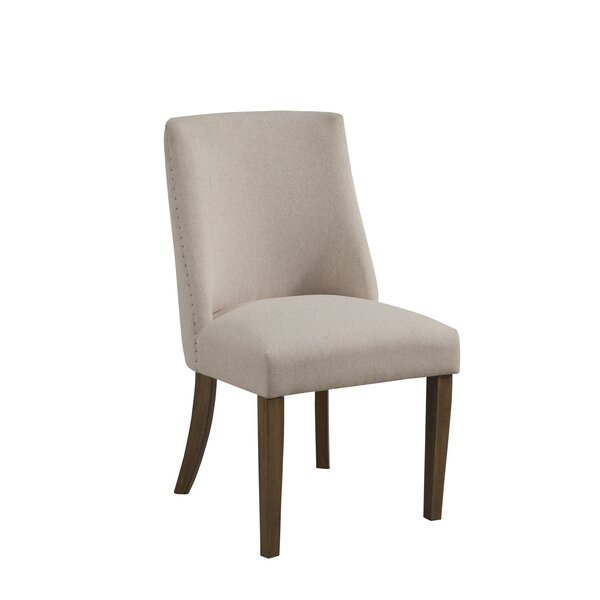 Whitten Upholstered Dining Chair (Set of 2) by Gracie Oaks
