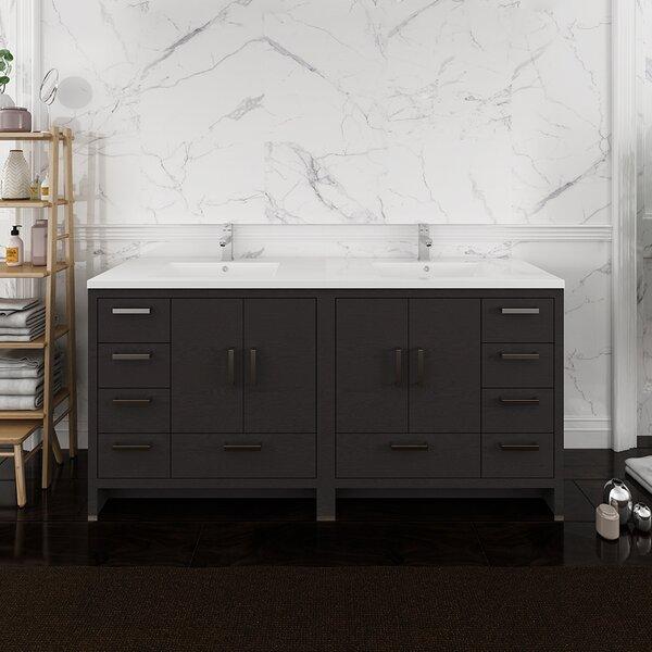 Senza Tuscany 71 Double Bathroom Vanity Set