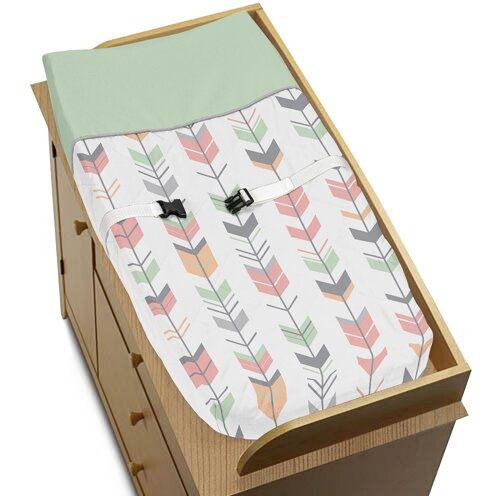 Mod Arrow Changing Pad Cover by Sweet Jojo Designs