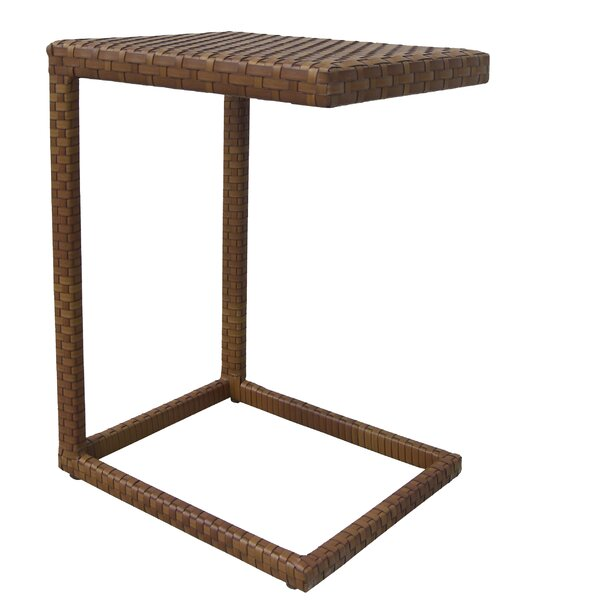 St Barths Wicker/Rattan Side Table by Panama Jack Outdoor