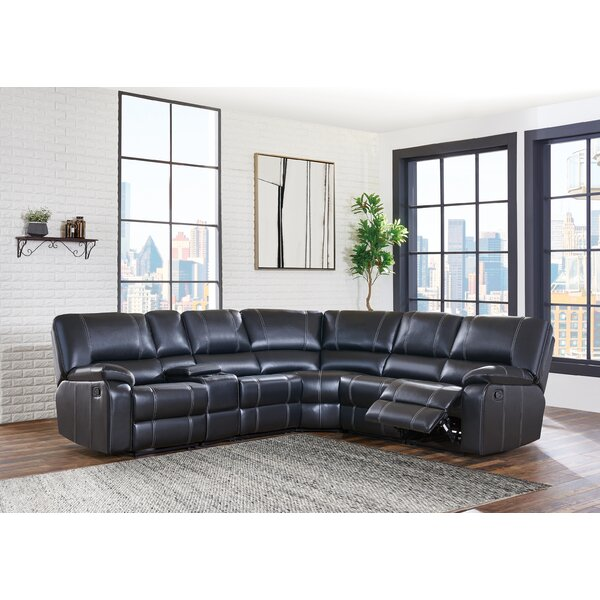 Tasia Stitched Detailed Reclining Sectional by Red Barrel Studio