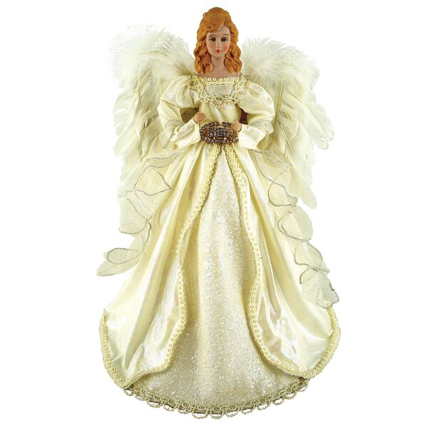 Majestic Angel Tree Topper by One Allium Way