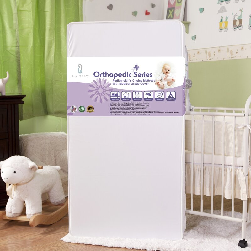 Pediatricianu0027s Choice Crib Mattress With Medical Grade Cover