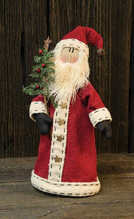 Santa with Long Coat by The Holiday Aisle
