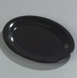 Durus® Melamine Oval Platter (Set of 12) by Carlisle Food Service Products