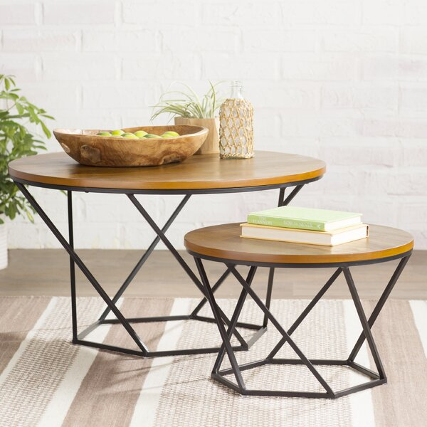 Dunavant 2 Piece Coffee Table Set by Mercury Row
