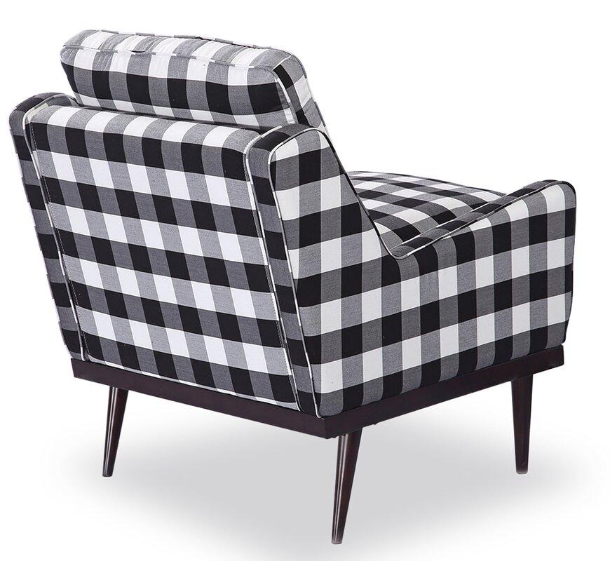 Elektra Midcentury Modern Slipper Chair