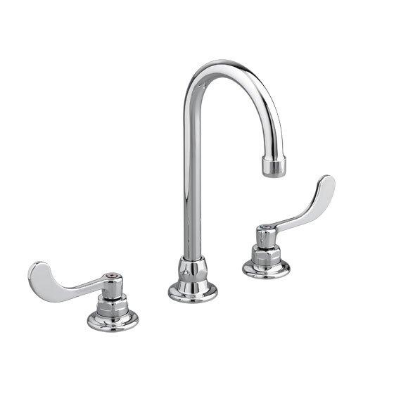 Monterrey Widespread Bathroom Faucet with Rigid / Swivel Gooseneck Spout by American Standard